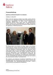 Pressemitteilung - Sparkasse Koblenz