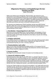 Allgemeine Checkliste - Sparkasse Koblenz