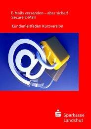 Kundenleitfaden (Kurzversion) - Sparkasse Landshut