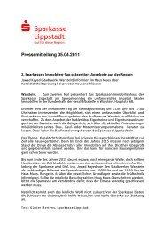 Vorlage Internet Presse Immotag Warstein - Sparkasse Lippstadt