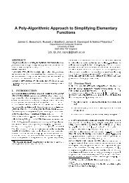 A Poly-Algorithmic Approach to Simplifying Elementary Functions