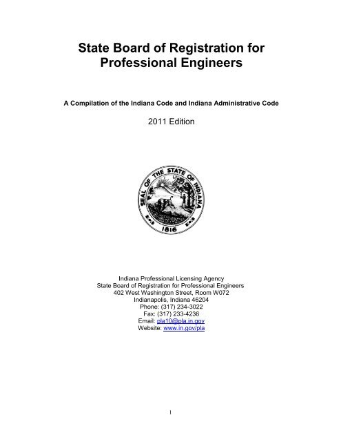 State Board of Registration for Professional Engineers