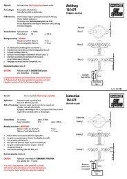 Anleitung 161674 Instruction 161674 - Faller