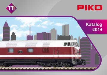 TT Katalog 2014, gratis Download - zum Piko-Shop