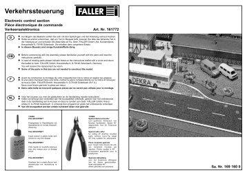 161772 Anleitung - Faller