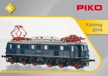 N Katalog 2014, gratis Download - zum Piko-Shop