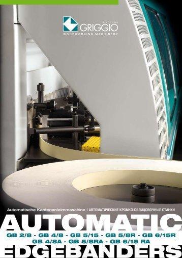 Automatische Kantenanleimmaschine   АВТОМАТИЧЕСКИЕ