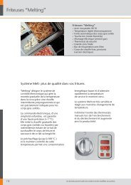 """Friteuses """"Melting"""" - icsticino.ch"""