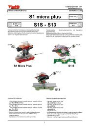 S1 micra plus S1S - S13