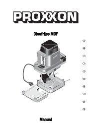 Oberfräse MOF Manual - Axminster Power Tool Centre