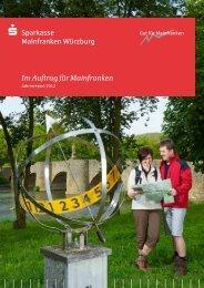 Jahresreport 2012 - Sparkasse Mainfranken Würzburg