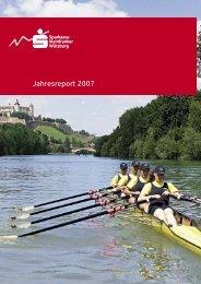 gekürzter Jahresreport 2007 - Sparkasse Mainfranken Würzburg