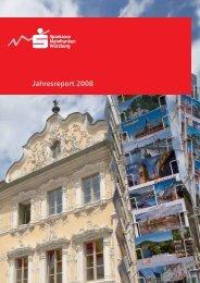 gekürzter Jahresreport 2008 - Sparkasse Mainfranken Würzburg