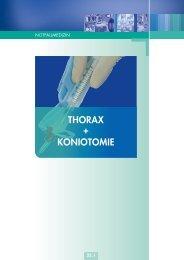 THORAX + KONIOTOMIE
