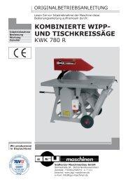 Bedienungsanleitung downloaden - BGU Maschinen