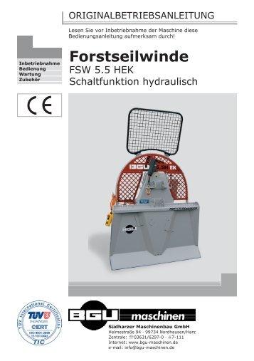 FSW 5,5 HEK_14.09.2010 Kopie.indd - BGU Maschinen