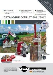 Catalogue complet 2011/2012 - BGU Maschinen