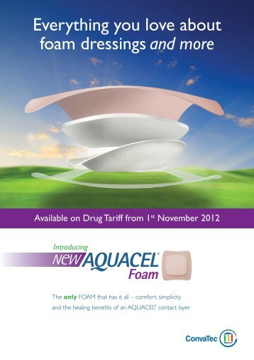 AQUACEL® Foam Detailed Aid - ConvaTec