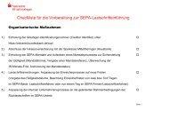 Checkliste Einführungs-To-Dos SEPA-LS - Sparkasse Mittelthüringen