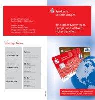 Kartendoppel - Sparkasse Mittelthüringen