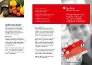 Ihre SparkassenCard - Sparkasse Mittelthüringen