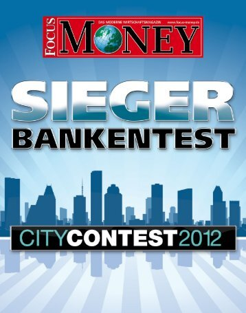 Zum Sonderdruck CityContest 2012 - Stadtsparkasse ...