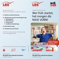 Wer früh startet, hat morgen die NASE VORN! - Sparkasse Neu-Ulm ...