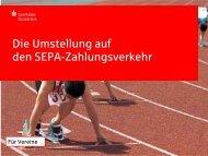 Vereins-Präsentation - Sparkasse Osnabrück