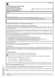 Vereinbarung über den Einzug von Forderungen durch SEPA ...