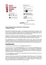 2011_Teilnahmebedingungen Niederbayern V1 _2 - Sparkasse ...