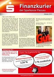 Finanzkurier - Sparkasse Passau