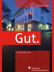 Jahresbericht 2011 - Sparkasse Vest Recklinghausen