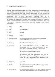 6 Endgültige Bedingungen Nr. 13 - Sparkasse Rhein-Nahe