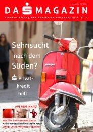 Magazin öffnen - Sparkasse Rothenburg