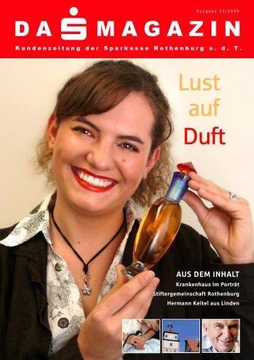 Lust auf Duft - Sparkasse Rothenburg