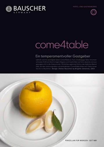 come4table (PDF, 849KB) - Bauscher