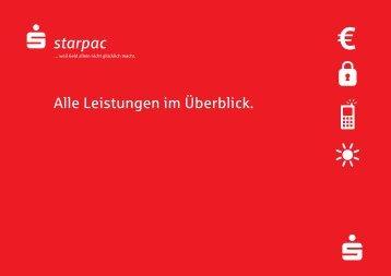 starpac - Die Internetfiliale der Sparkasse Rottal-Inn