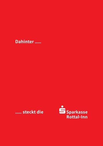 Wir als Arbeitgeber - Die Internetfiliale der Sparkasse Rottal-Inn