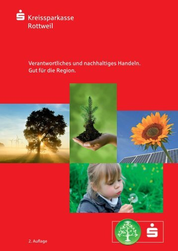 Nachhaltigkeitsreport der Kreissparkasse Rottweil