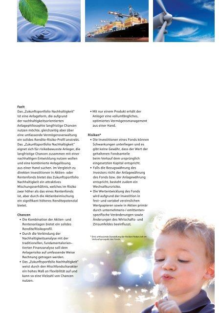 Zukunftsportfolio Nachhaltigkeit s Sparkasse ... - MMD-Forum.de