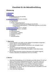 Checkliste für die Akkreditiverfüllung