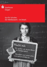 Broschüre - Sparkasse Siegen