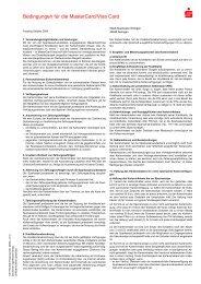 Bedingungen für die MasterCard/Visa Card - Stadt-Sparkasse ...