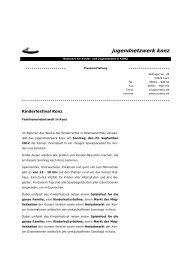 jugendnetzwerk konz - Sparkasse Trier