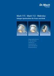 Mach 115 · Mach 112 · Makrolux - Dr. Mach