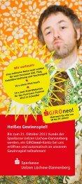 S GIRO neo! - Sparkasse Uelzen Lüchow-Dannenberg