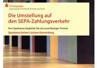 SEPA - Sparkasse Uelzen Lüchow-Dannenberg