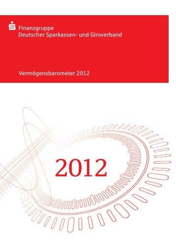 Vermögensbarometer 2012 ... - und Giroverband
