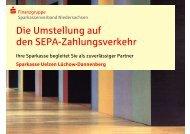 SEPA-Lastschrift - Sparkasse Uelzen Lüchow-Dannenberg