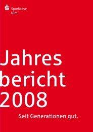 2008 (pdf) - Sparkasse Ulm